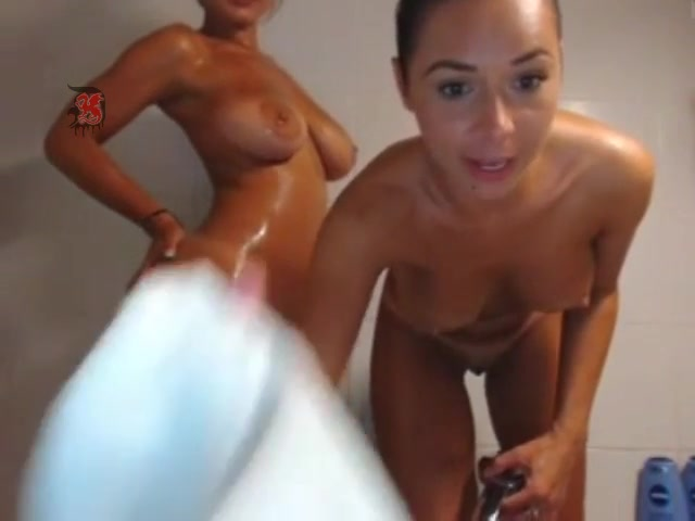 Fantasy wet tits in the shower