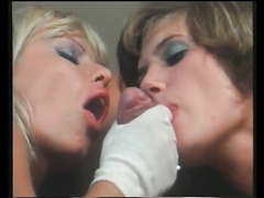 Vintage facials cumpilation