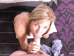 Naughty milf Colette likes to be fucked in doggy