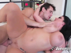 Sophie and big Manuels cock makes this couple happy today