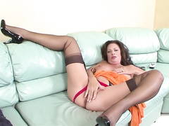 Younger cock is all this milf with big boobs needs today