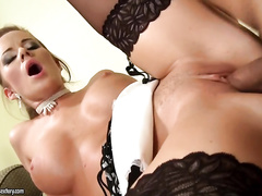 Crazy Cindy loves fucking her asshole over and over