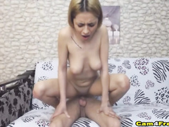 Naughty bitch gets fucked hard in the ass