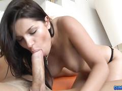 Angel Rivas is a hot latin slut won't stop sucking and fucking